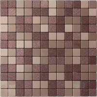 Wholesale Light Purple Beige Solid Face Metallic Mosaic Tiles Self Adhesive from china suppliers