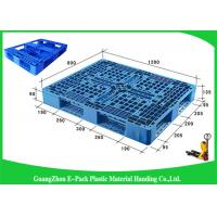 Wholesale Durable Nestable Plastic Euro Pallets Anti - Slip For Transport Industrial from china suppliers
