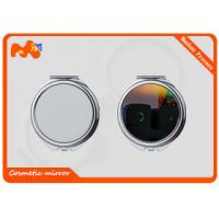 Wholesale Pretty Sublimation Metal Plates / Art Personalized Compact Mirror Favors from china suppliers
