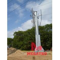 Pole Overhead Line Structures : Kv terminal pole of item