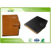 Wholesale Embossing Surface Finishing Loose Leaf Notebook With Pen And Business Card Pockets from china suppliers