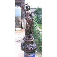 Wholesale bronze Grape Goddess Sculpture for Garden from china suppliers