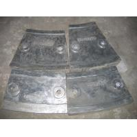 Wholesale Cr12 Mill Liners White Iron Castings for Coal Mill , Metal Casting Supplies from china suppliers