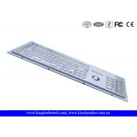 Wholesale Industrial Kiosk Computer Metal Keyboard With Panel Mount Function Keys from china suppliers