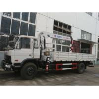 Wholesale factory direct sale Dongfeng 153 8toded knuckle boom mounted on truck, best price Dongfeng 190hp truck with crane from china suppliers