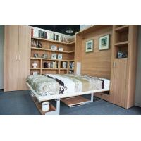 Buy cheap Vertical Double Contemporary Wall Bed E 1 Standard MDF With Bookshelf and Office Table from wholesalers