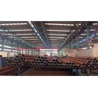 Quality GB 3087 A106 Black Carbon Steel Seamless Pipe / Tube For Fluid Transport for sale
