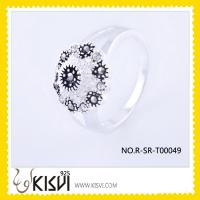 Wholesale fine gemstone jewelry silver ring jewellery  from china suppliers