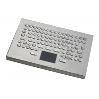 Wholesale IP65 94 Keys Square 304 Metal Desktop Keyboard Integrated Touchpad from china suppliers
