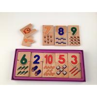 Wholesale Tiger Montessori - educational toys for kids-wooden domino from china suppliers