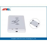 Wholesale White NFC Contactless Reader , Anti - Collision Mifare NFC Reader And Writer from china suppliers