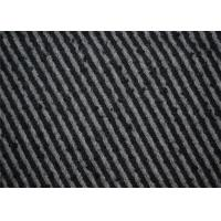 Wholesale Hongmao Modern Tweed Fabric , Strip Tweed Upholstery Material 600g/m from china suppliers