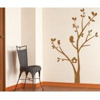 Wholesale Tree and Flower PVC Wall Sticker B092 / Tree Home Decoration from china suppliers