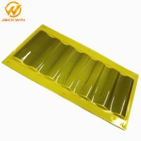 Wholesale Dustproof Plastic Yellow / Blue Delineator Sign Sheet For Tunnel Road Construction from china suppliers