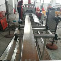 Quality 100mm Width Cable Tray Cover Making Machine With PLC Siemens Control System for sale