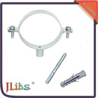 Wholesale Professional Cast Iron Pipe Clamps Set Electro Zinc Plated With Hanger Bolt from china suppliers
