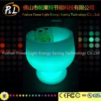 Wholesale RGB Color Changing LED Ice Bucket /LED Light Ice Cooler from china suppliers