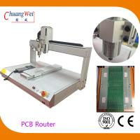 Wholesale White PCB Depaneling PCB Router Machine with 500mm/s Cutting Speed from china suppliers