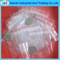 Quality New design FDA/EU approved LDPE transparent plastic ziplock bag for sale