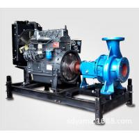 Wholesale Fuel Tank Diesel Water Pump Set Water Cooling Electric Starting / Air Starting from china suppliers