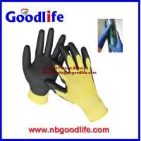 Buy cheap Workplace Safety Supplies Security & Protection PU or PVC gloves from wholesalers
