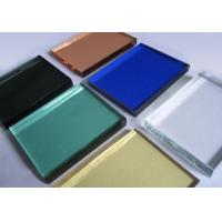 Buy cheap Colored Low Emissivity Coated Glass, Architectural Solar Reflective Glass from wholesalers
