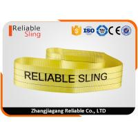 Wholesale Polyester Flat Belt Endless Webbing Sling En Standard Color Coded  Polyester Web Slings from china suppliers