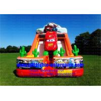 Wholesale Amusement Cute Car Huge Inflatable Slide Toys For Family School Park from china suppliers