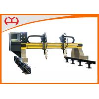 Quality Precise Small Gantry CNC Flame Cutting Machine With FASTCAM Bilateral Drive for sale