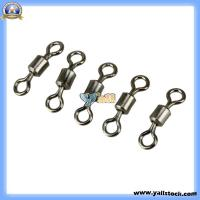 Wholesale 100PCS Ball Bearing Swivel Solid Rings Fishing Connector #7-89004356 from china suppliers