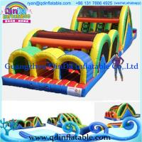 Wholesale Inflatable Sport Games , Inflatable obstacle Course for Adult from china suppliers