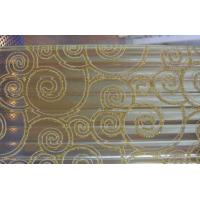 Wholesale Wired Patterned Safety Laminated Glass, 15mm 19mm Sound Insulation Tempered Glass from china suppliers