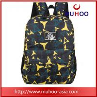 Wholesale Black printed polyester sports travel hiking sports backpacks school bag for boys from china suppliers