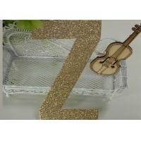 Wholesale Letters Z Die Cut Large Glitter Foam Letters 300gsm Glitter Paper For Card Making from china suppliers