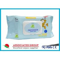 Wholesale Natural Care Baby Wet Wipes For Newborns , Spunlace Nonwoven Wet Tissue For Baby from china suppliers