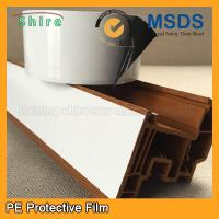 Wholesale Black & White Windshield Protection Film , UPVC Window Glass Adhesive Film from china suppliers