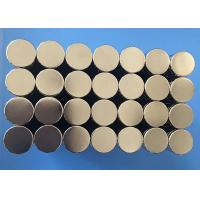 Wholesale Hot Sale Good Quality Customized Small Size Disc Sintered Ndfeb Magnete from china suppliers
