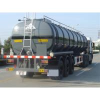 Wholesale 35000L-3 Axles-Aluminum Tanker Semi-Trailer for  Cyclohexylamine from china suppliers