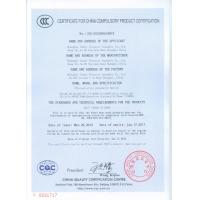 SHNAGHAI SUNNY ELEVATOR CO.,LTD Certifications