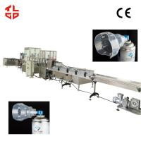 Wholesale Automatic Vacuum Crimping Filling Machinery , Fresh Air Aerosol Can Filling Line from china suppliers