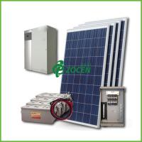 Wholesale 1.12KW AC / DC Off Grid Solar Power Systems Kit For Household / Home from china suppliers