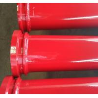 Buy cheap DN125 Concrete pump twin wall pipe from wholesalers