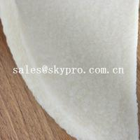 Wholesale Anti-slip white natural rubber sheet crepe sheet for shoe sole from china suppliers