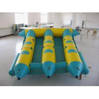 Wholesale 6 Person Toy Inflatable Boat , PVC Inflatable Water Flyfish with 6 seats for Water Sport from china suppliers