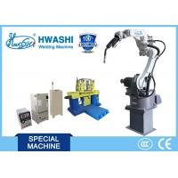 Wholesale Super Six Axis Robotic Arm Welding Machine With Panasonic Mig / Tig Welder Soldering from china suppliers