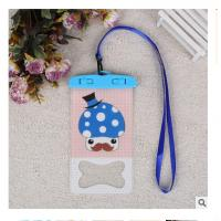 Wholesale cute carton used under water Mobile phone waterproof bag from china suppliers