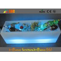 Wholesale Polyethylene LED Ice Bucket , RGB Glowing PE Modern Wine Cabinet from china suppliers