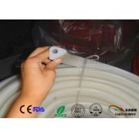 Buy cheap Transparent triangle section white silicone rubber seal,Triangle shaped  silicone rubber seal for autoclave machines from wholesalers