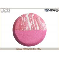 Wholesale Artistic Comestic Baked Powder Blush , Custom Mauve Blush For Tan Skin from china suppliers