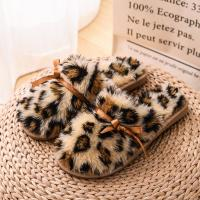 Wholesale Fluffy Ladies Winter House Slippers Cozy Boa Slides Girls Plush Cozy House Shoes from china suppliers